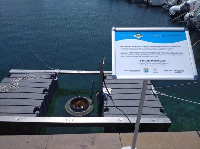 Operazione mare pulito: l'8 giugno un nuovo Seabin a Stintino, per tutelare un paesaggio unico