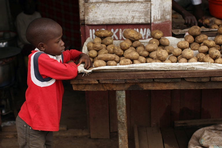 Africa's Largest Slums Struggle With Rising Food Prices