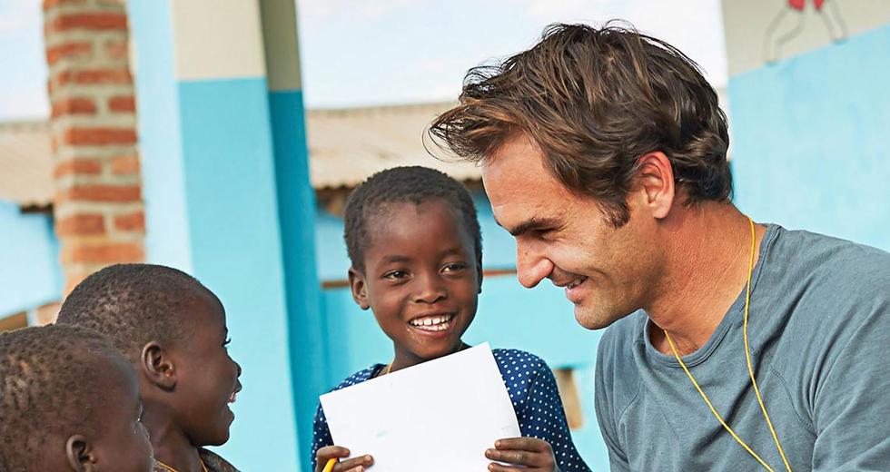 Janine Händel e la Fondazione Roger Federer. Per noi la filantropia è professionalità