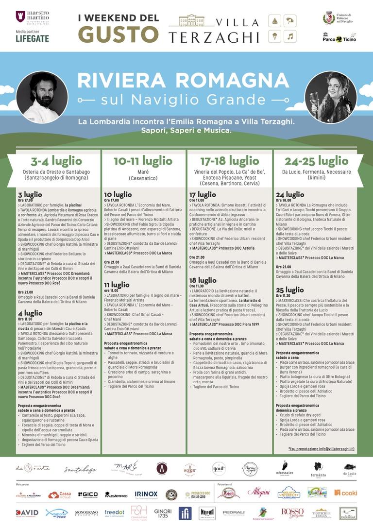 Programma Riviera Romagna