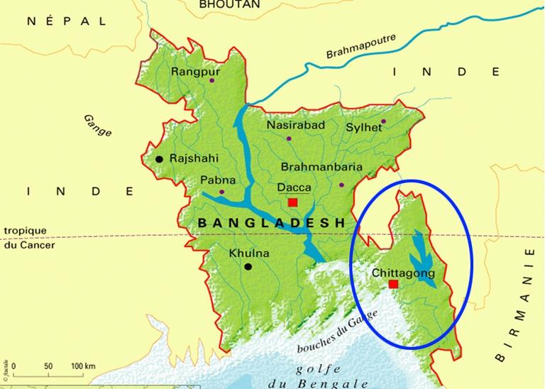 L'area del Chittagong, in Bangladesh, dove il land grabbing sta mettendo in ginocchio gli indigeni