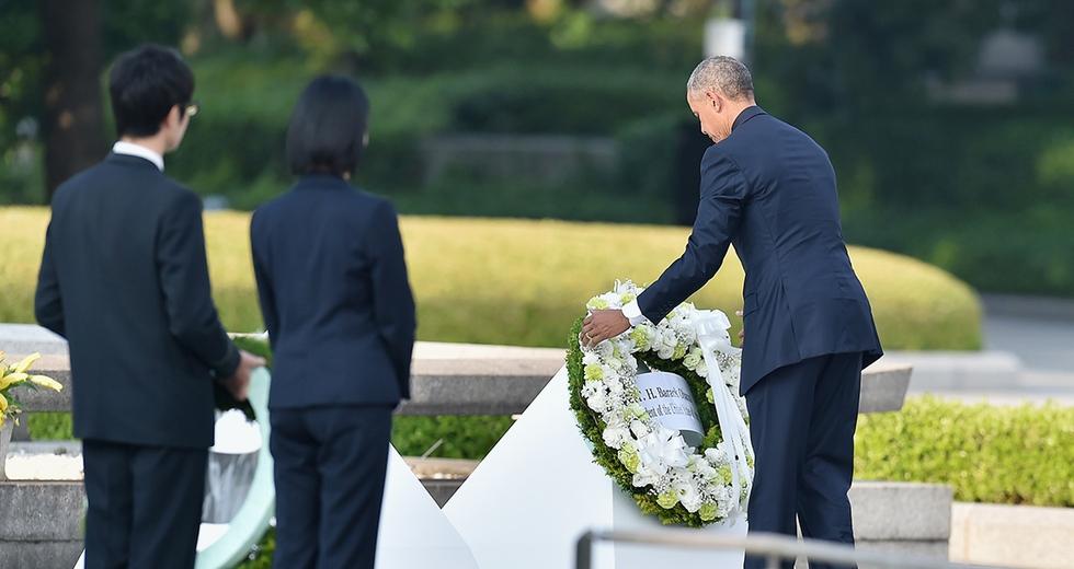 Obama a Hiroshima 71 anni dopo lo scoppio della bomba atomica