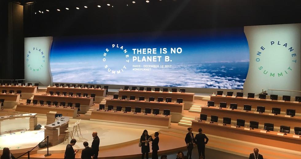 One Planet summit. A Parigi il mondo cerca i fondi per salvare il clima