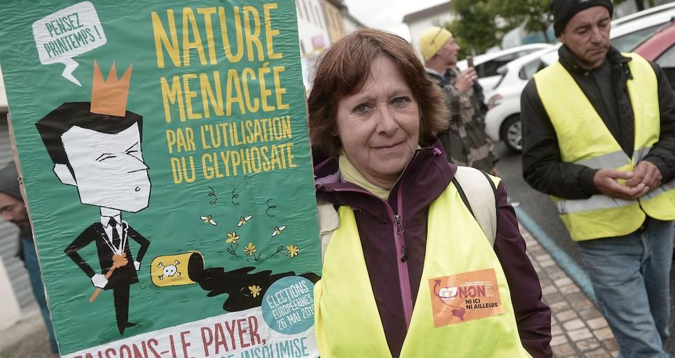 Glifosato, depositate in Francia 2.500 denunce