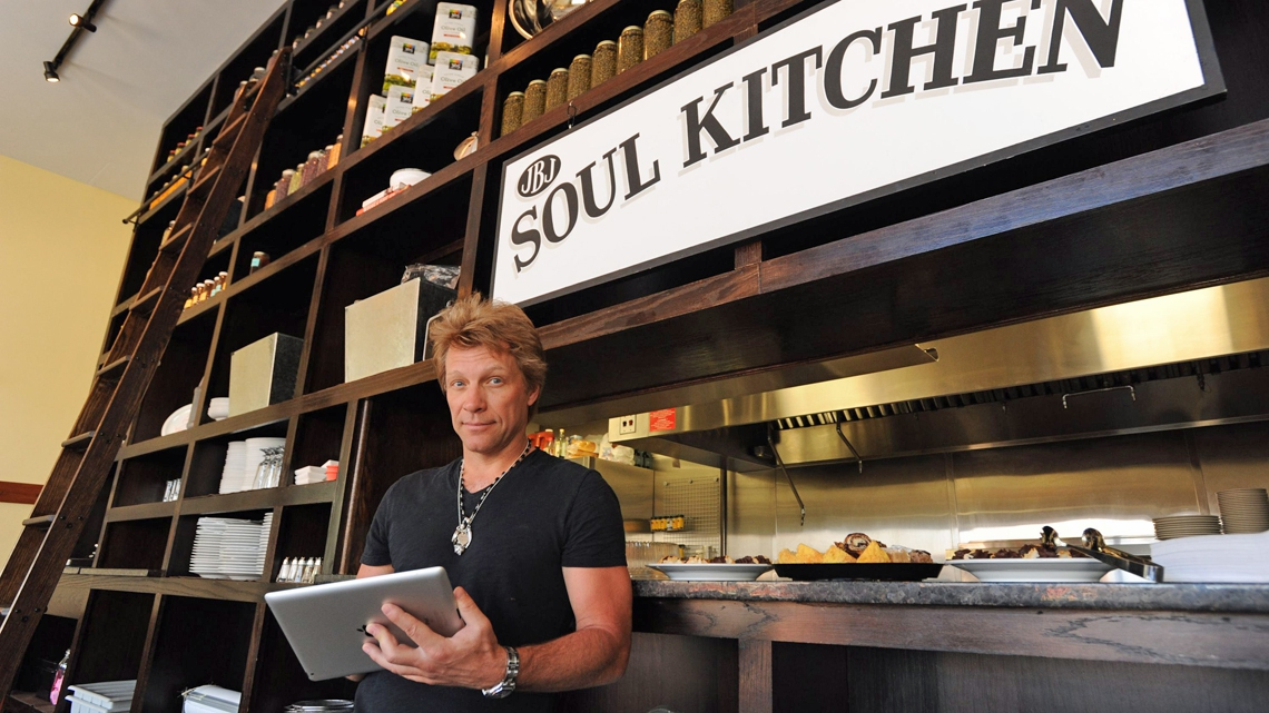 Bon Jovi The Musician Launches A Chain Of Restaurants To Feed The Poor Lifegate