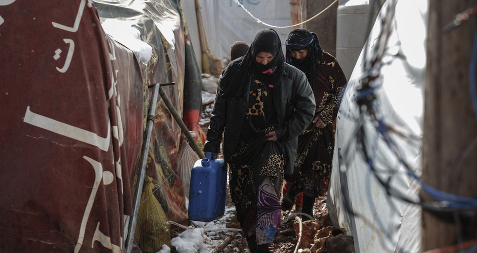 Siria, i paesi ricchi hanno accolto solo l'1,39 per cento dei profughi