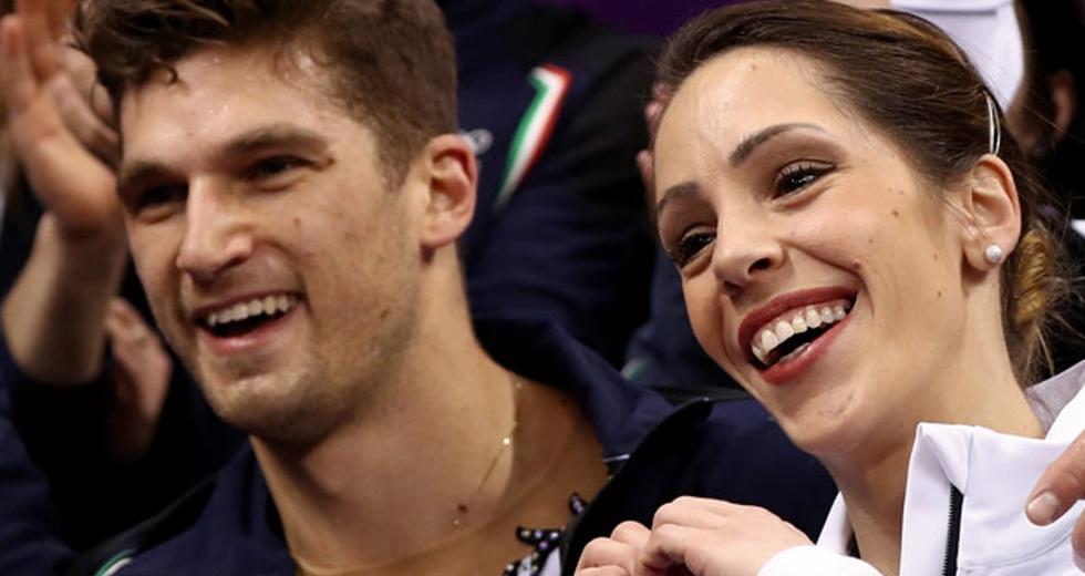 Nicole Della Monica, campionessa di pattinaggio artistico di coppia. La sostenibilità è rispetto verso se stessi
